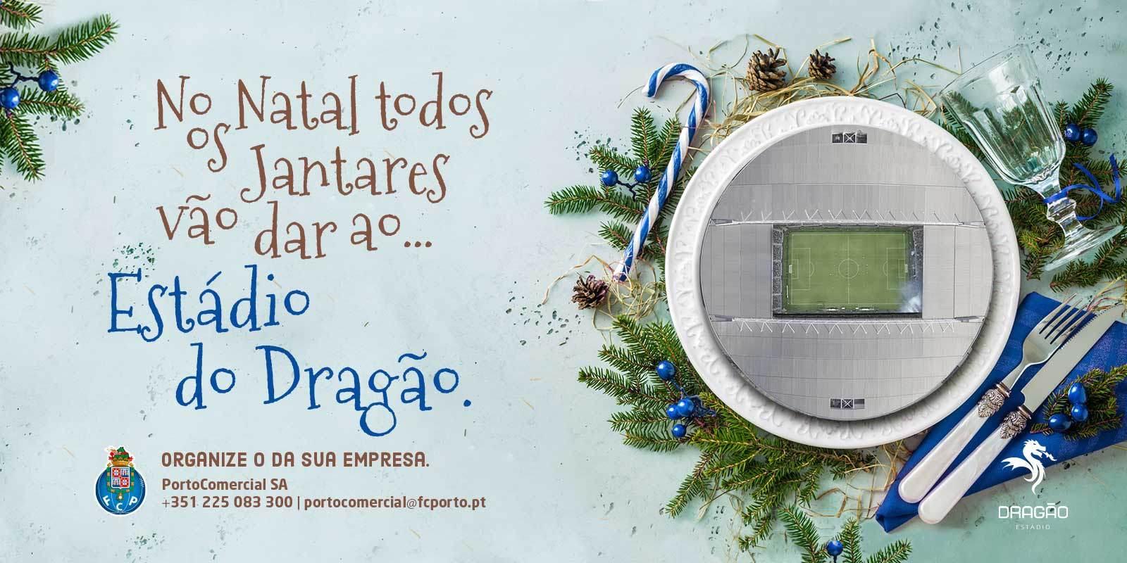 FC Porto Jantar de Natal para Empresas
